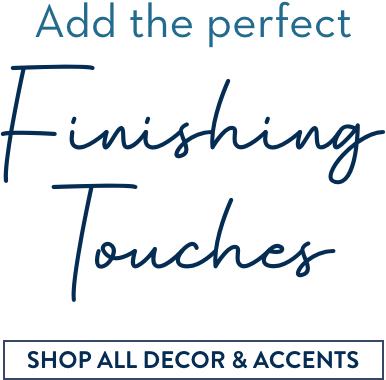 Shop All Decor, Accents & Rugs
