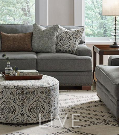 The value of a beautiful living room isn't only about price. It's the sum of all parts: quality, comfort, durability and beauty. Click to shop Living Rooms