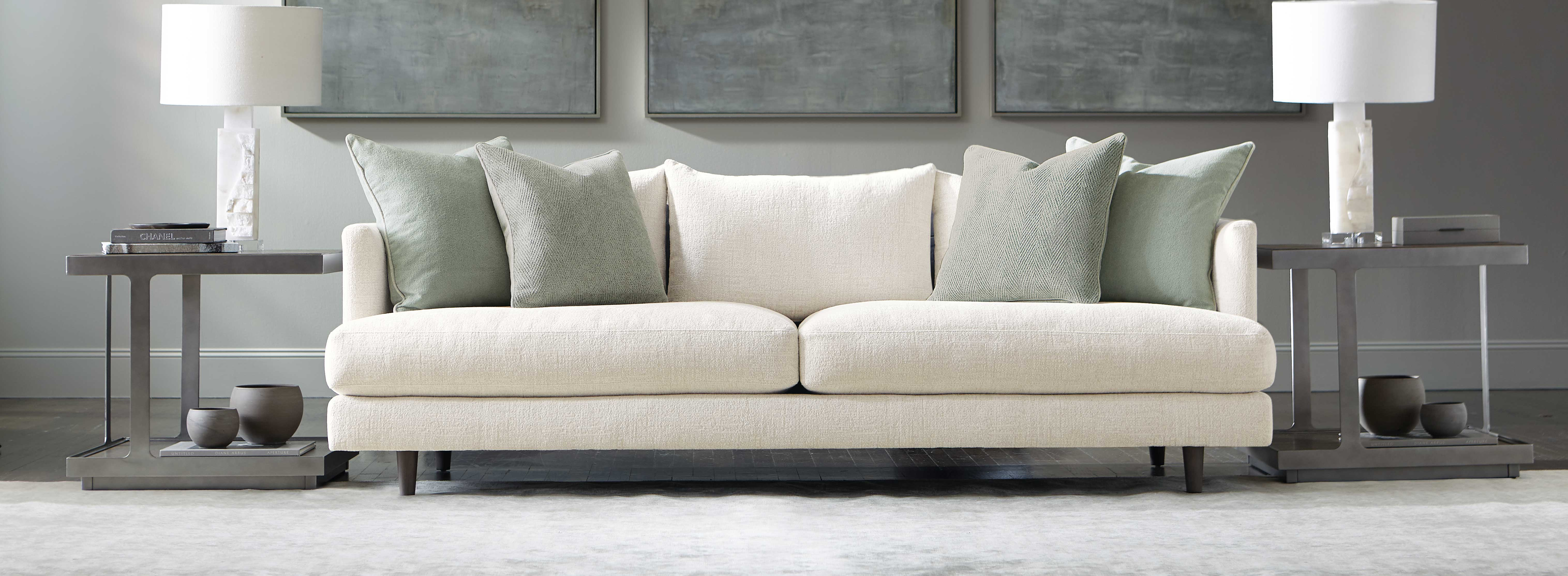 The value of a beautiful living room isn't only about price. It's the sum of all parts: quality, comfort, durability and beauty. Click to shop Bernhardt Furniture